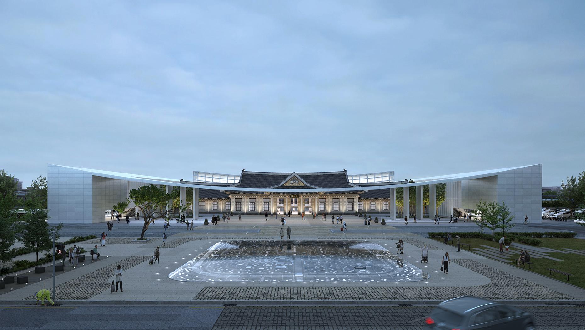 20190909 Jeonju Station Main Perspective Final
