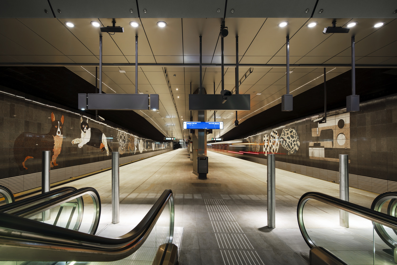 307 500 Noord Zuidlijn Station Rokin N5 medium