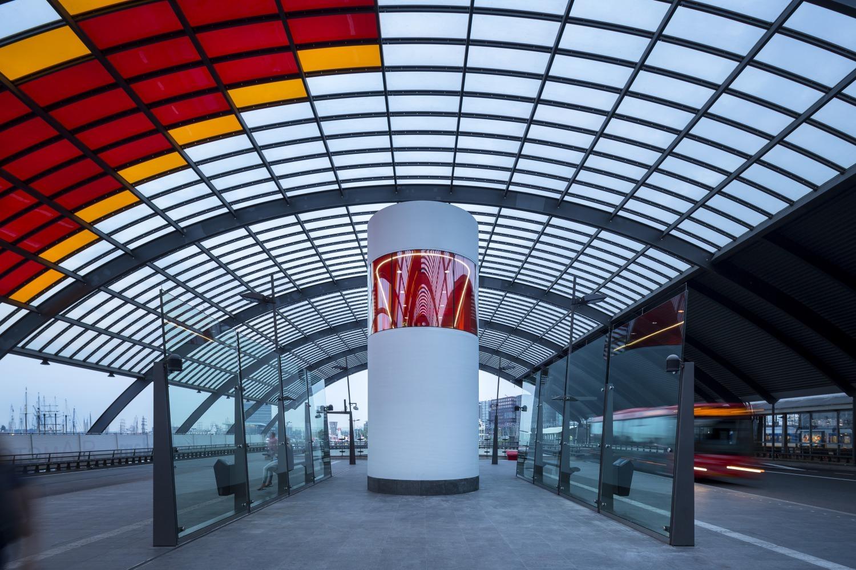 426 003 Chauffeursruimte busstation amsterdam Centraal N22 medium