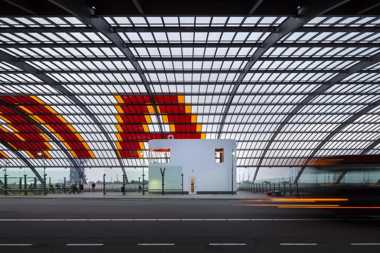 426 003 Chauffeursruimte busstation amsterdam Centraal N23 medium