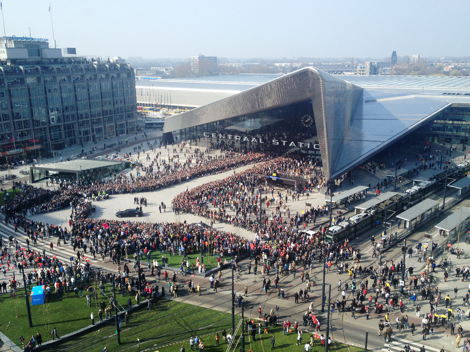 480 Rotterdam Centraal Station Arrival a4