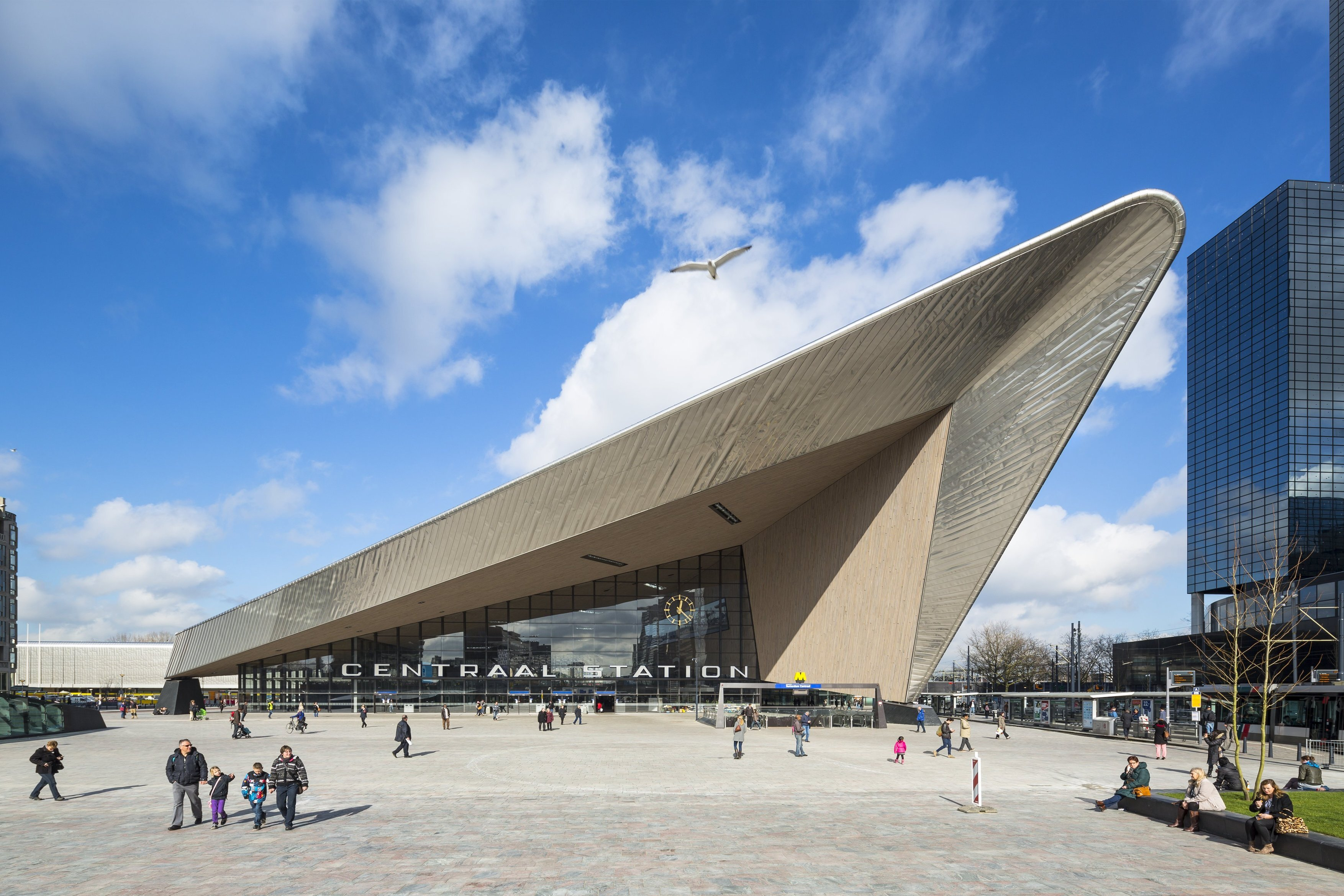 480 Rotterdam Centraal Station Team CS Benthem Crouwel Jannes Linders N9 a4
