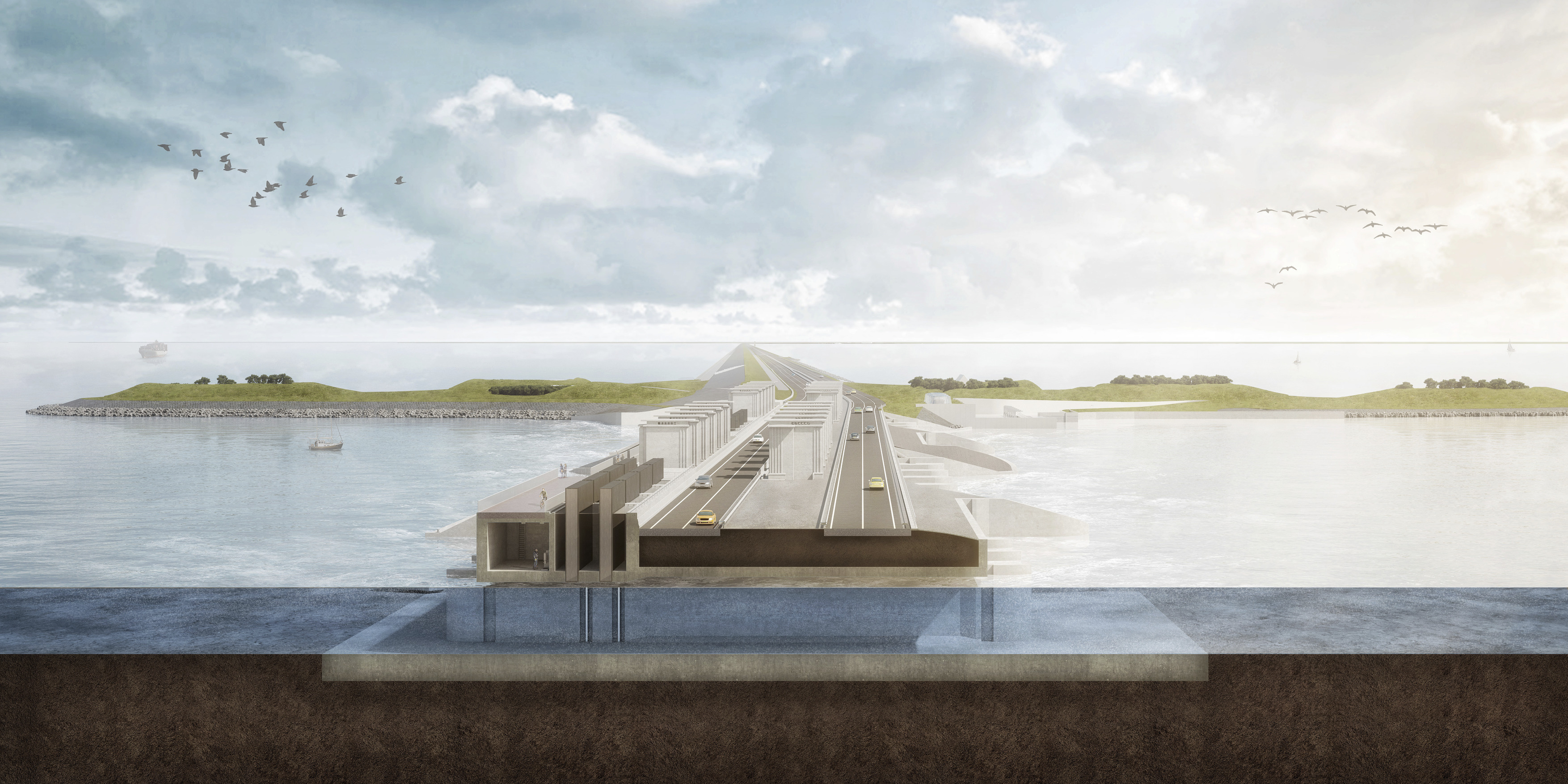 853 Versterken Afsluitdijk N16 a4